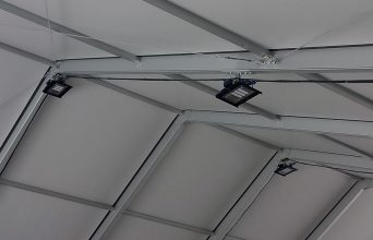 illuminazione led per hangar