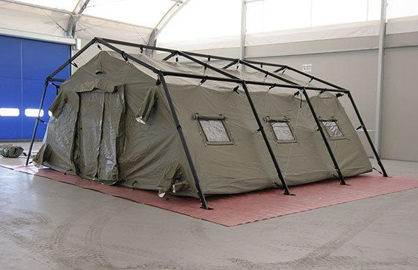tenda da campo militare